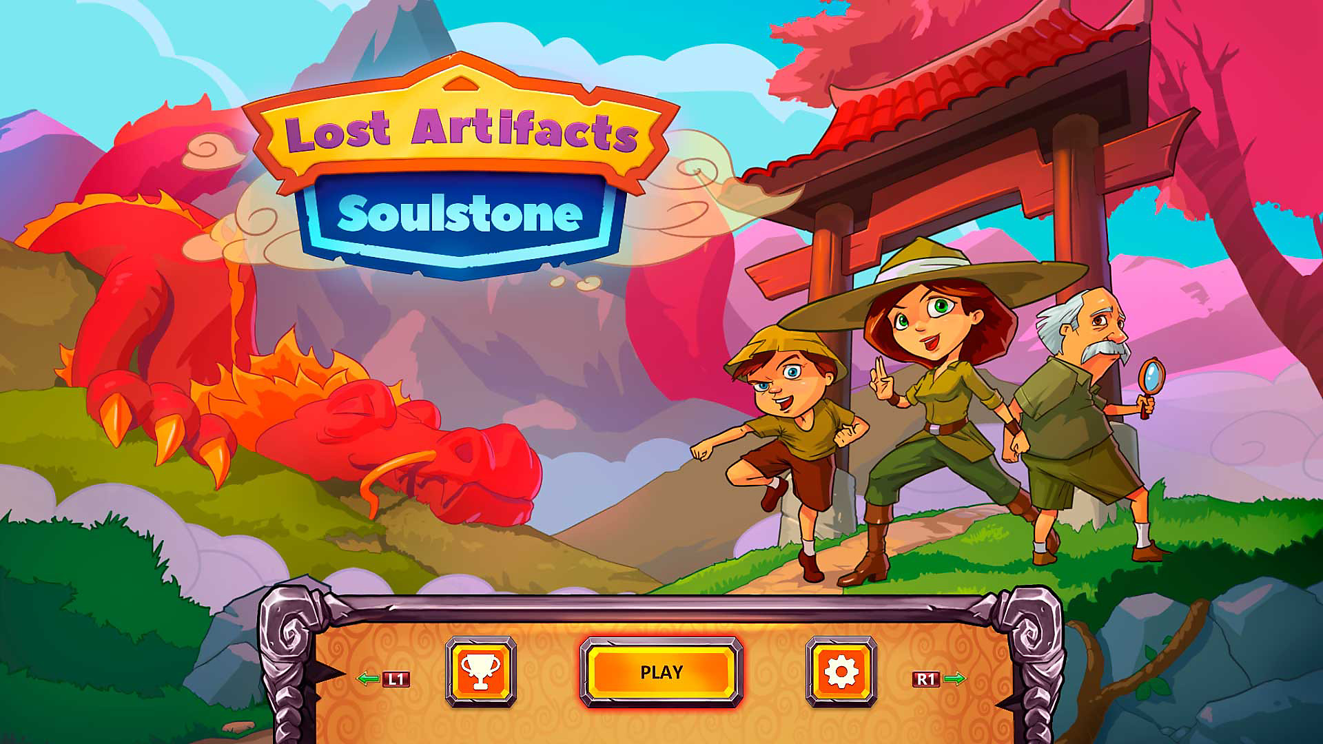 Gameplay de Lost Artifacts: Soulstone