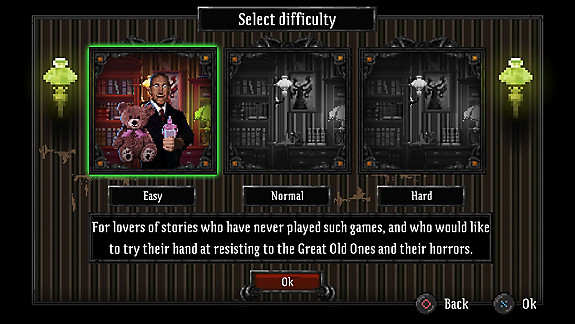 Lovecraft's Untold Stories - Screenshot INDEX