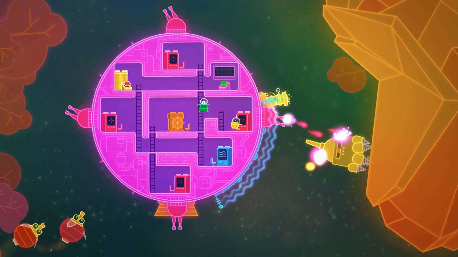 Lovers In A Dangerous Spacetime Game Ps4 Playstation