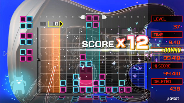 LUMINES REMASTERED Screenshot 1