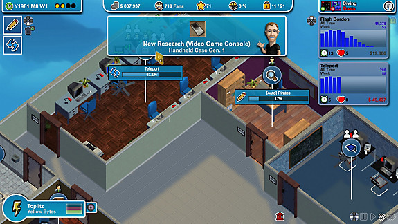 Mad Games Tycoon - Screenshot INDEX