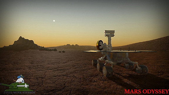 MARS ODYSSEY - Screenshot INDEX