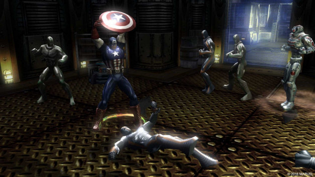 Marvel: Ultimate Alliance Screenshot 4