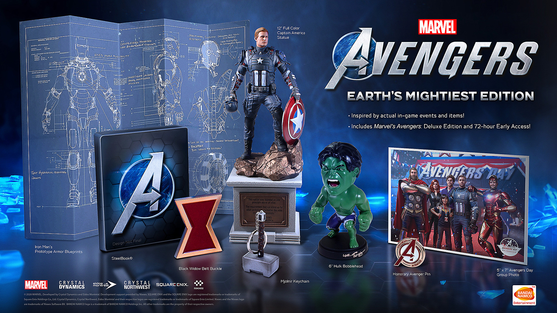 Marvel's Avengers EARTH's MIGHTIEST EDITION Beauty Shot