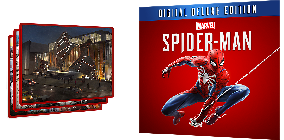 Digital Deluxe Edition - Marvel's Spider-Man