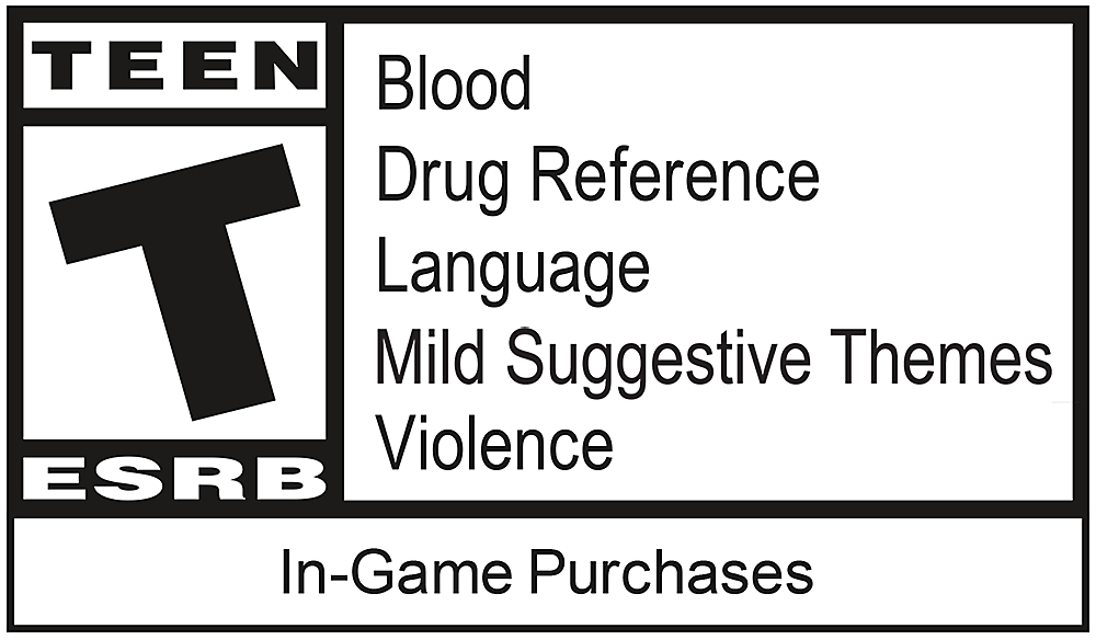 Marvel's Spider-Man DLC 1: The Heist ESRB Logo