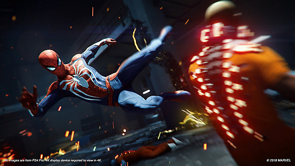 Marvel's Spider-Man: Game of the Year Edition - Screenshot INDEX