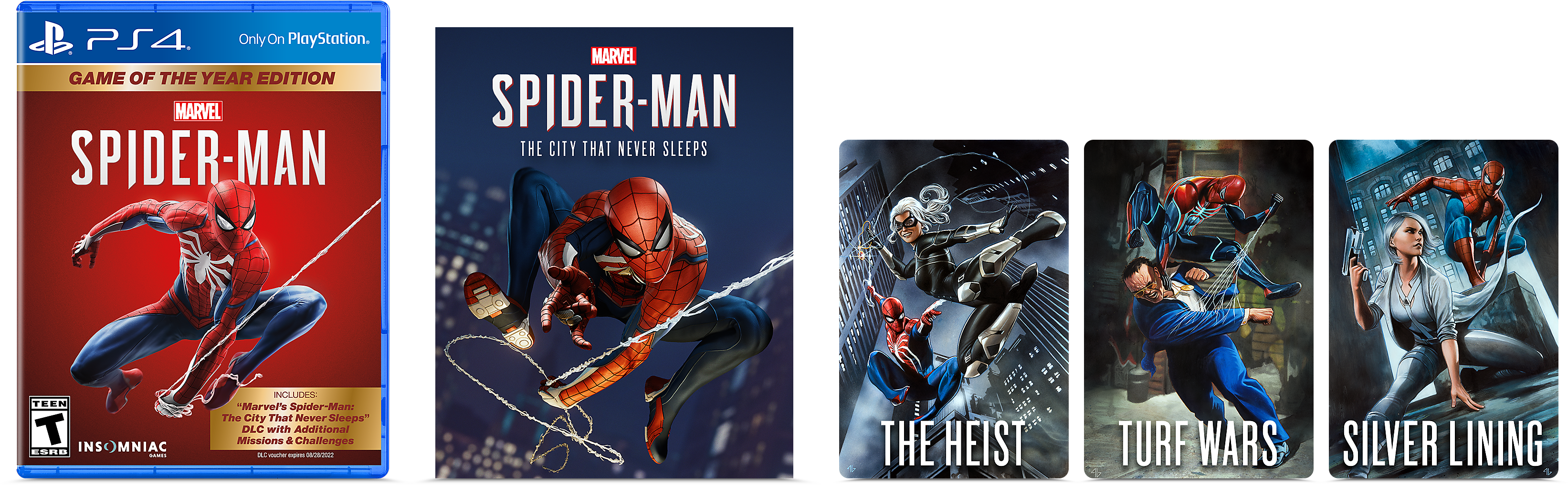 Marvel's Spider-Man Game of the Year Edition Contents
