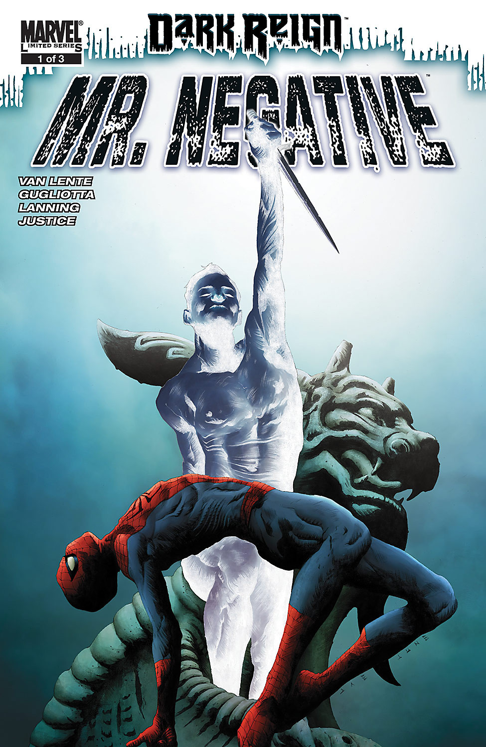 Spider-Man Comic - Dark Reign Mister Negative #1 Cover