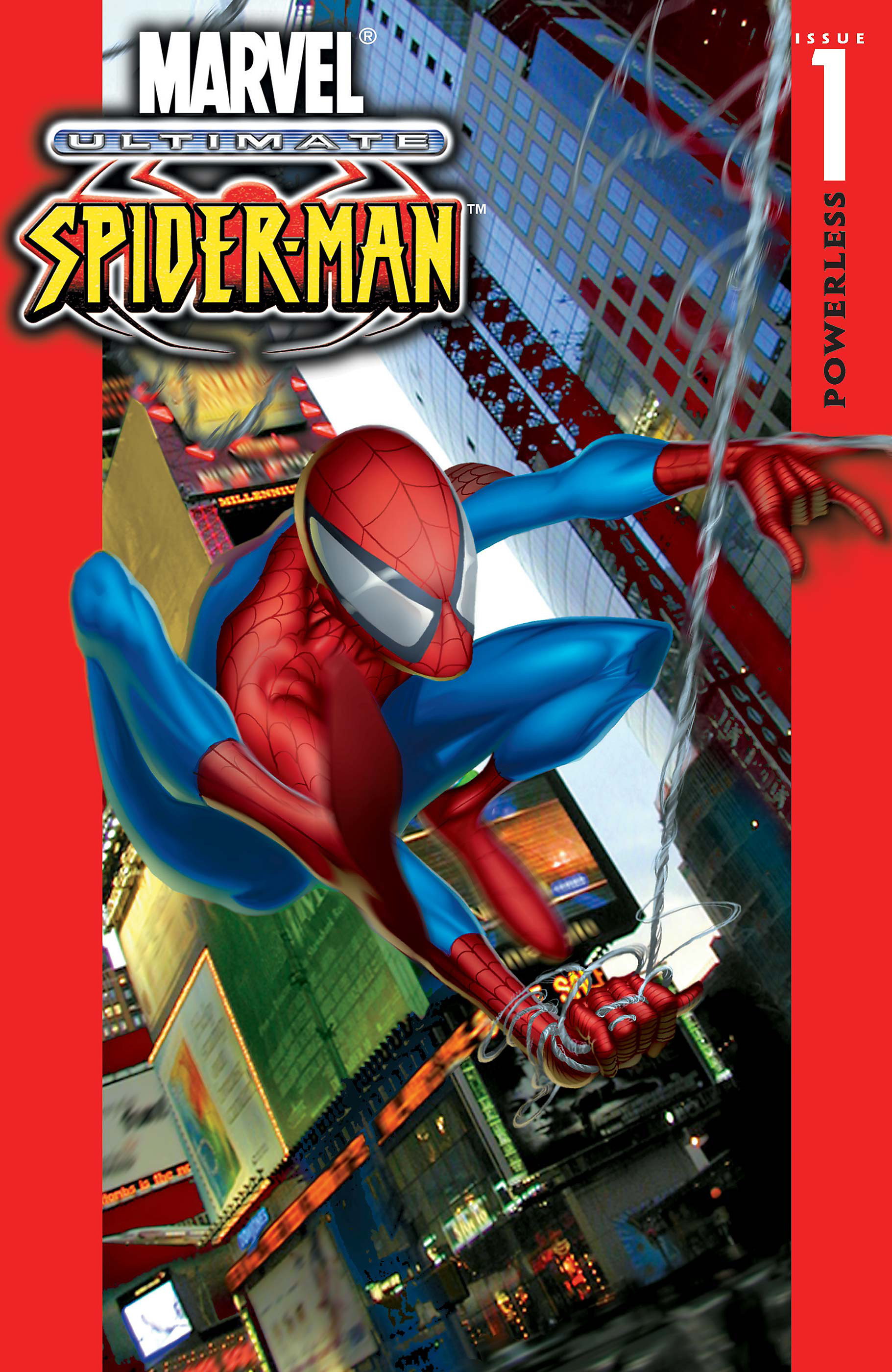 Spider-Man Comic - Ultimate Spider-Man #1 Cover
