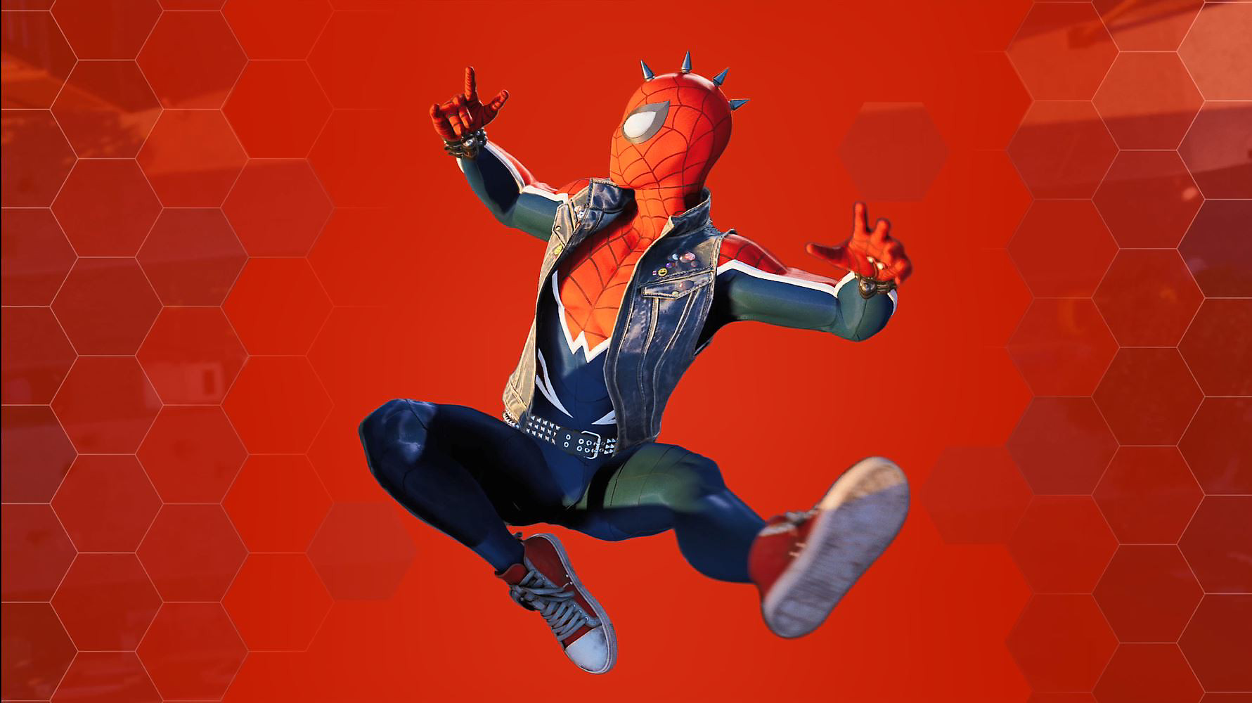 Marvel's Spider-Man Pre-Order Spiderpunk Suit