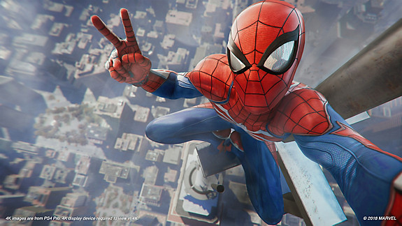 Marvel's Spider-Man PS4 Bundle screenshot