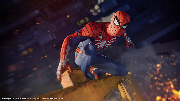 Limited Edition Marvel's Spider-Man PS4 Pro Bundle - Screenshot INDEX