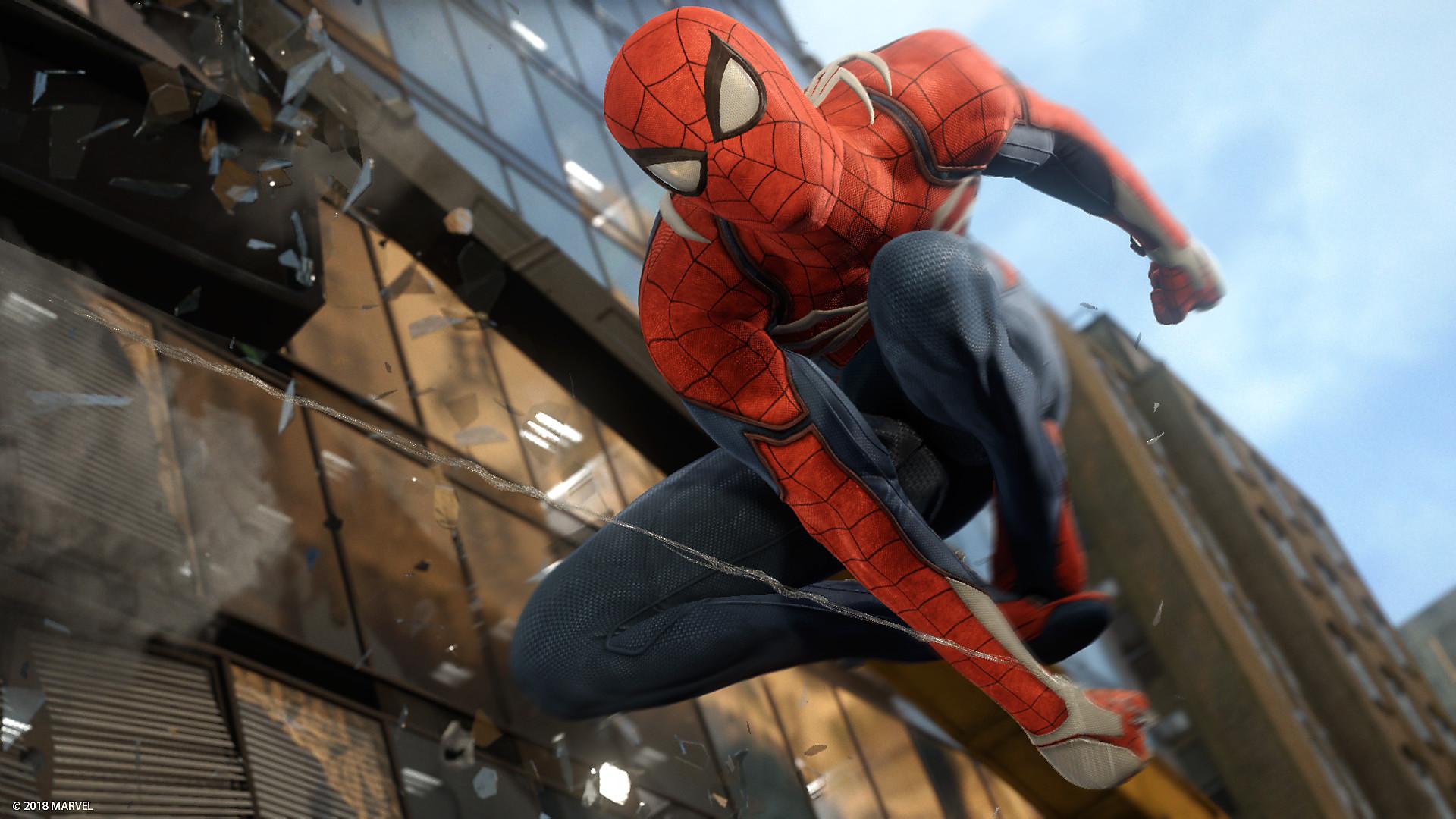 Marvel S Spider Man Game Ps4 Playstation