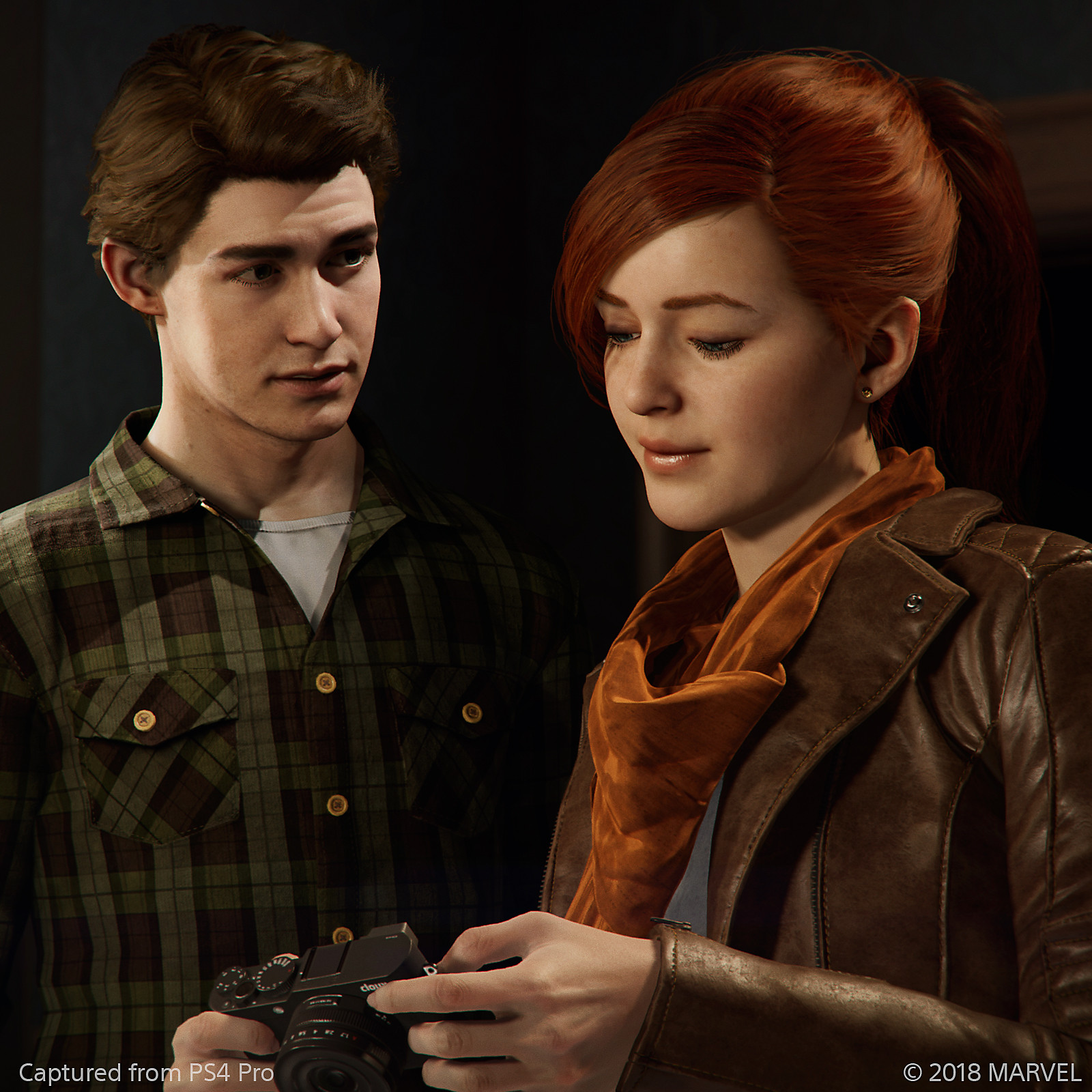Marvel's Spider-Man - Peter Parker and Mary Jane screenshot