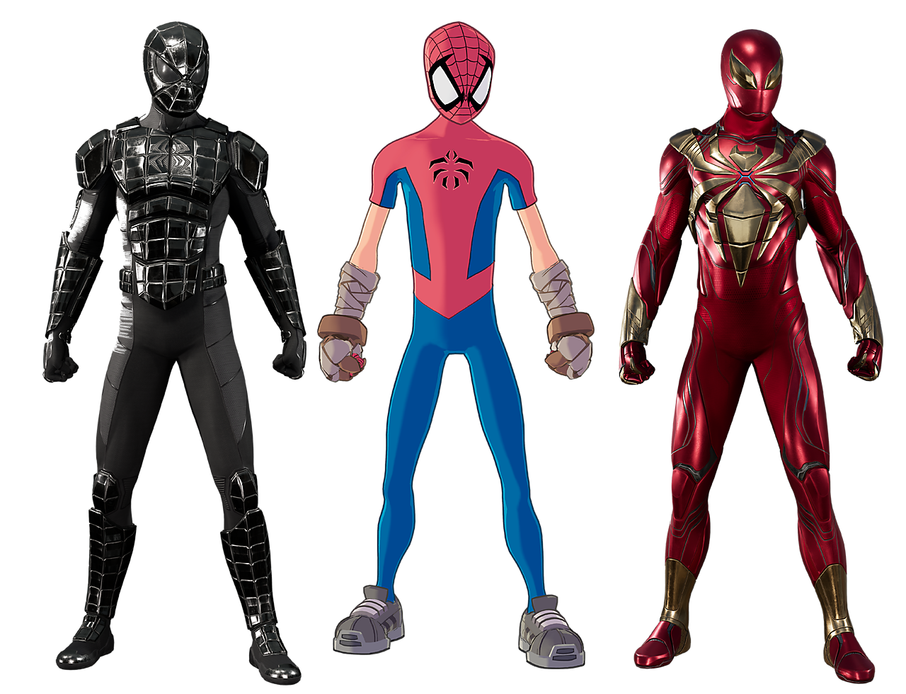 Marvel's Spider-Man - Turf Wars suits