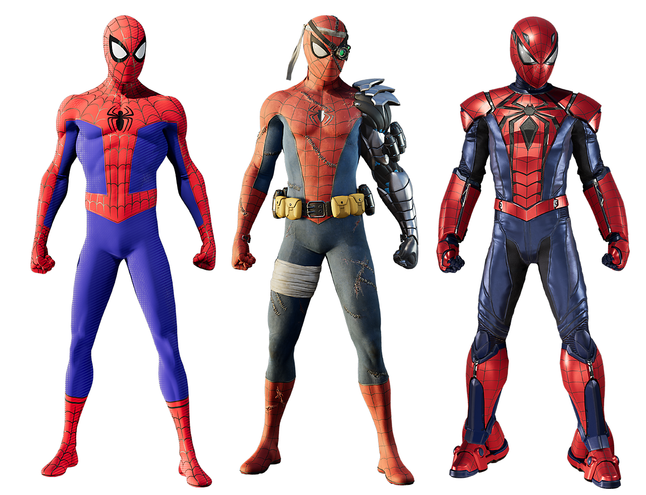 Marvel's Spider-Man - Silver Lining suits