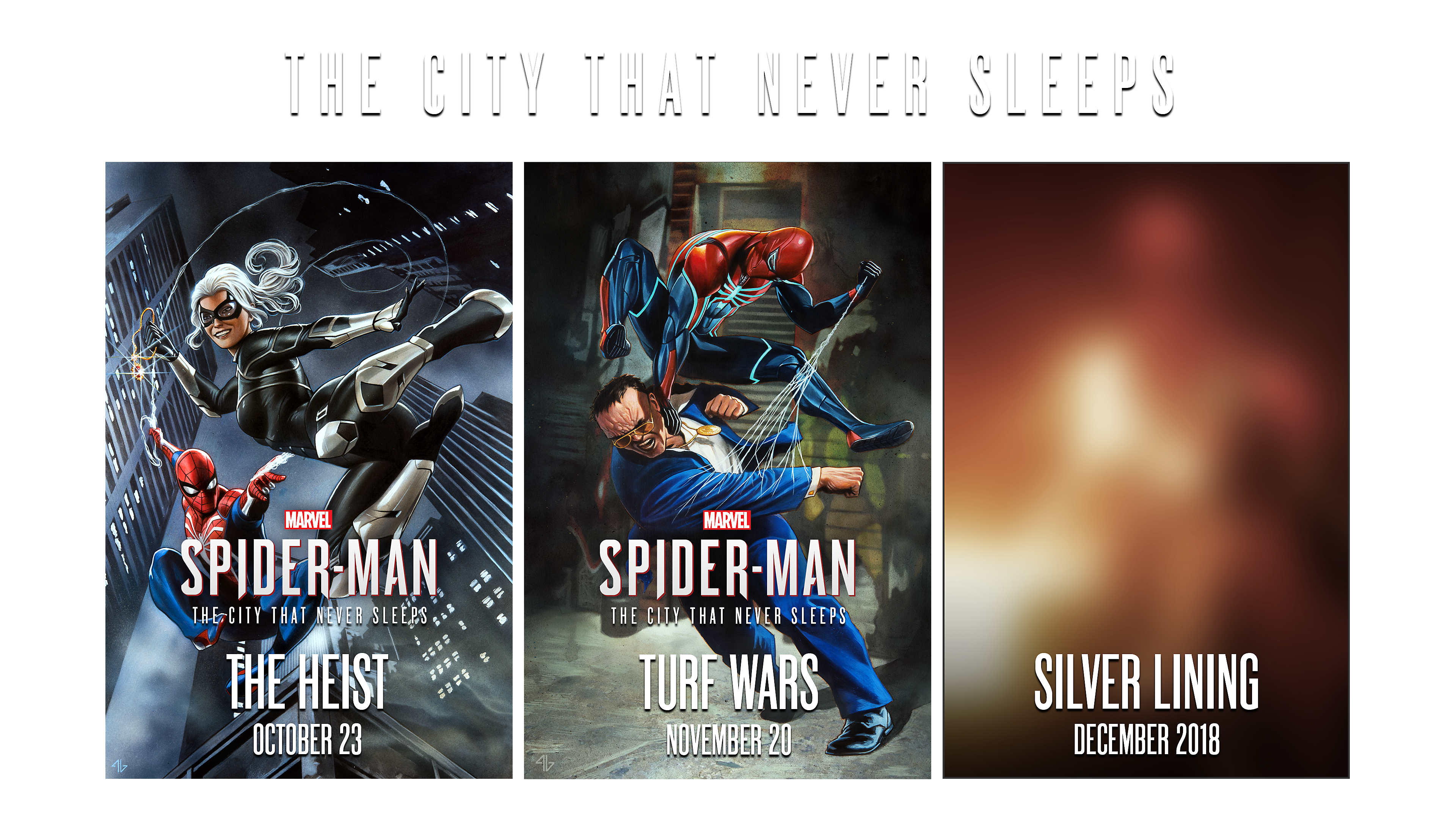 Marvel's Spider Man: The City That Never Sleeps DLC Chapters