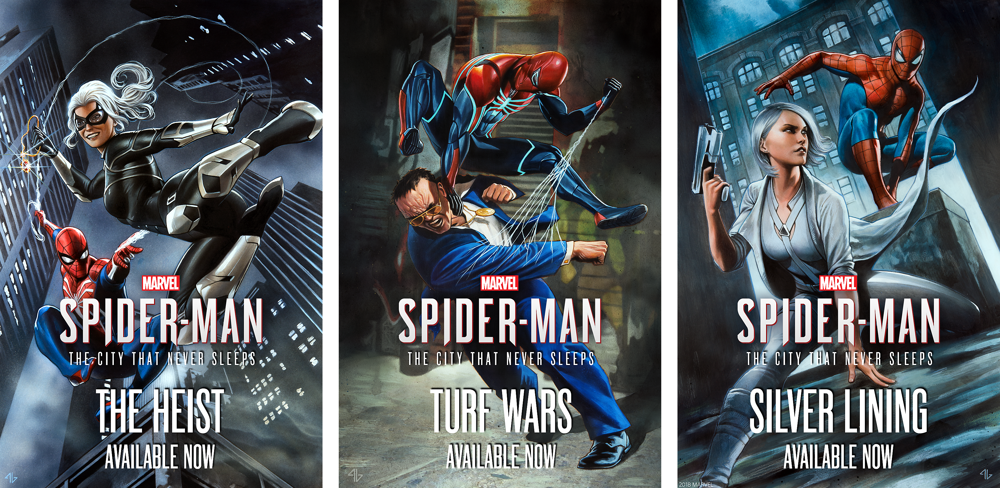 Marvel's Spider-Man: The City That Never Sleeps Chapters