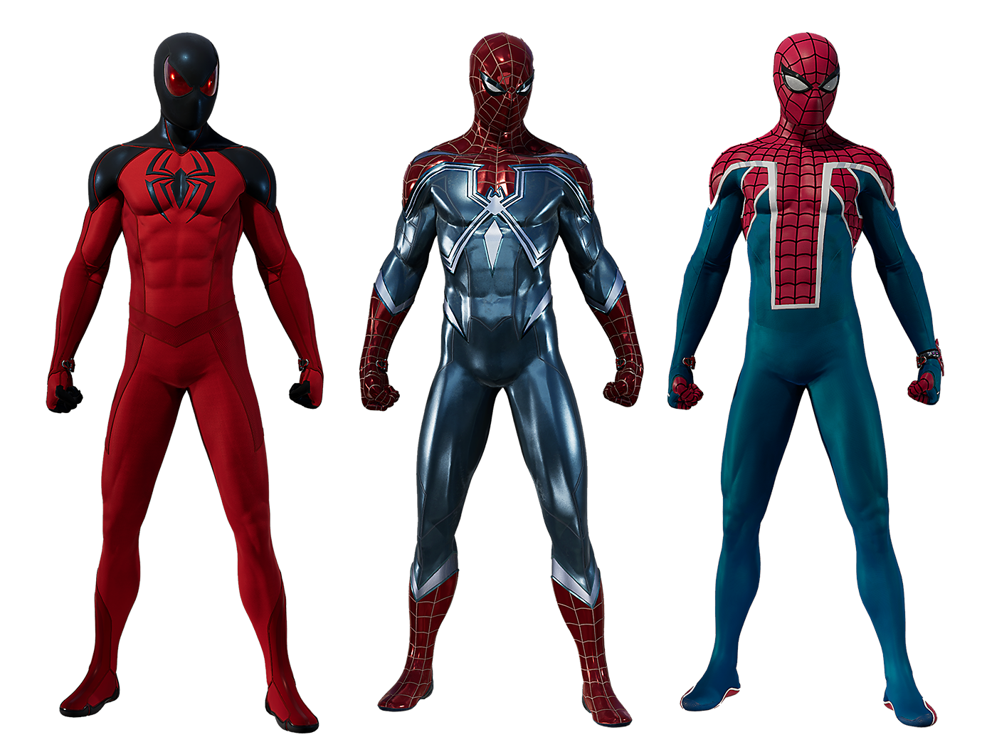 Marvel's Spider-Man - The Heist Suits