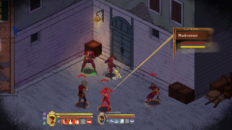 Masquerada: Songs and Shadows Trailer Screenshot