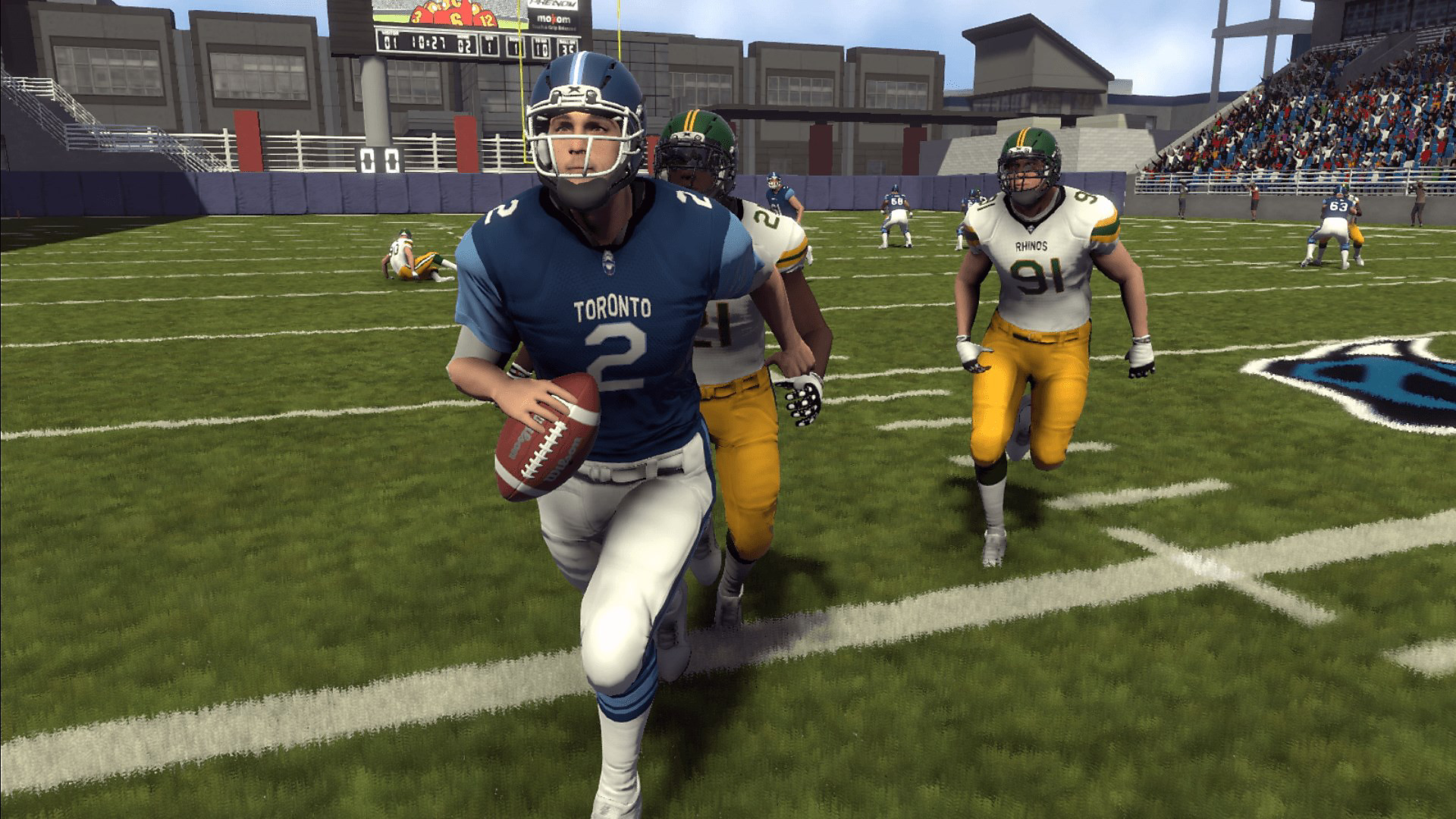 Gameplay de Maximum Football 2019