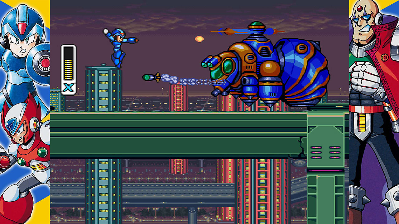 Mega Man X Legacy Collection 1+2 Game Overview Screenshot 1
