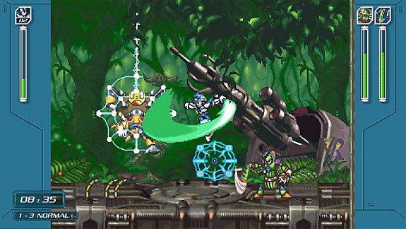 Mega Man X Legacy Collection 1+2 - Screenshot INDEX