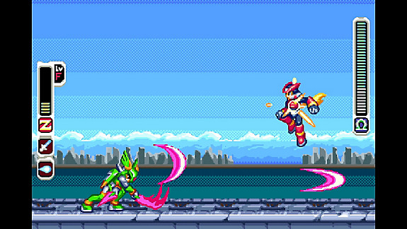 Mega Man Zero/ZX Legacy Collection - Screenshot INDEX