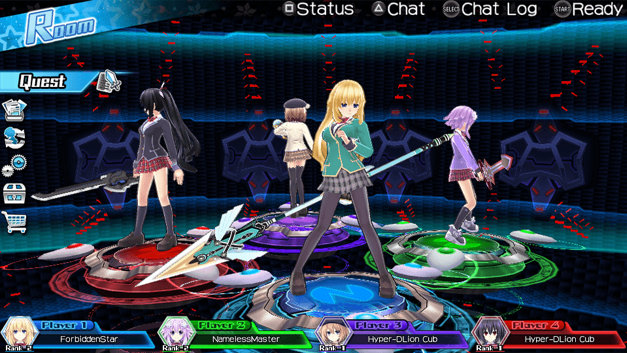 MegaTagmension Blanc + Neptune VS Zombies Screenshot 1