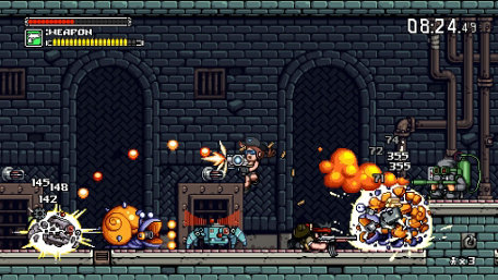 Mercenary Kings Trailer Screenshot