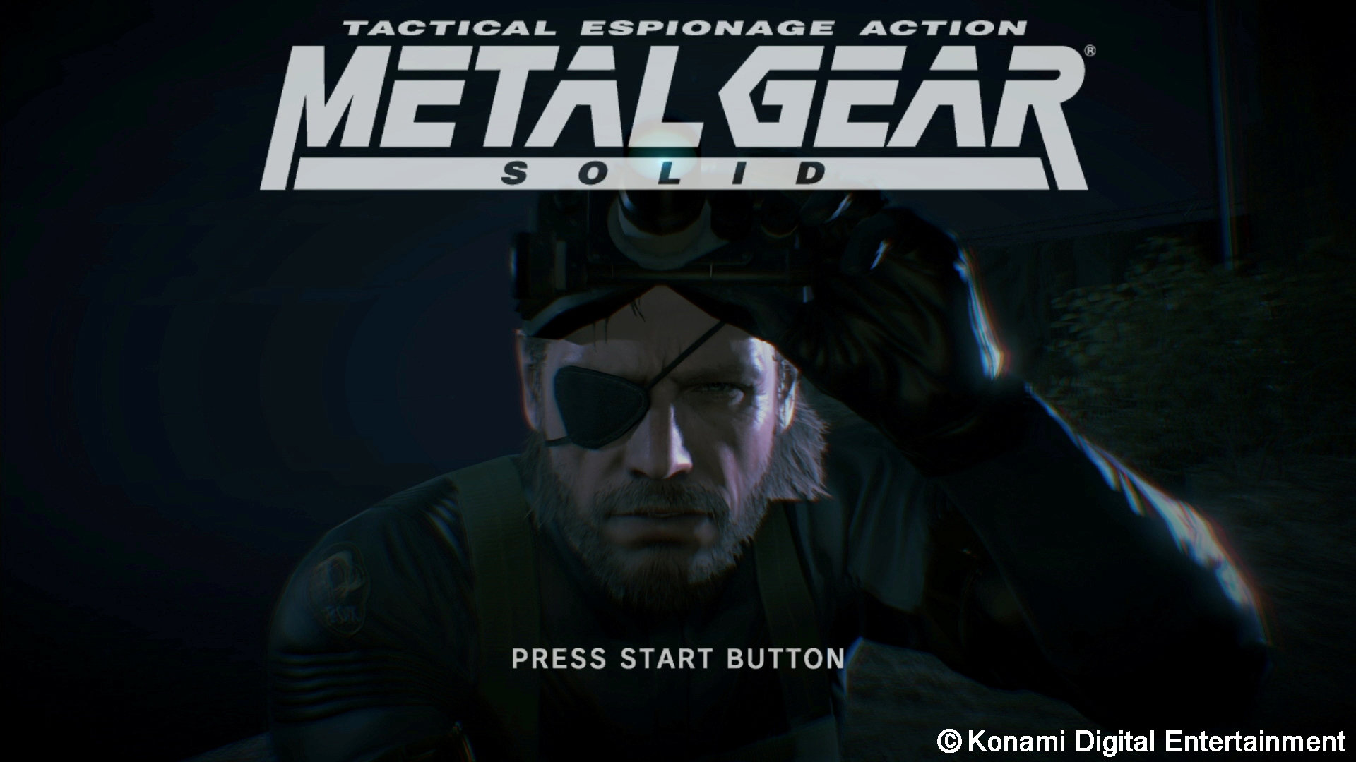 Metal Gear Solid V Ground Zeroes Game Ps4 Playstation