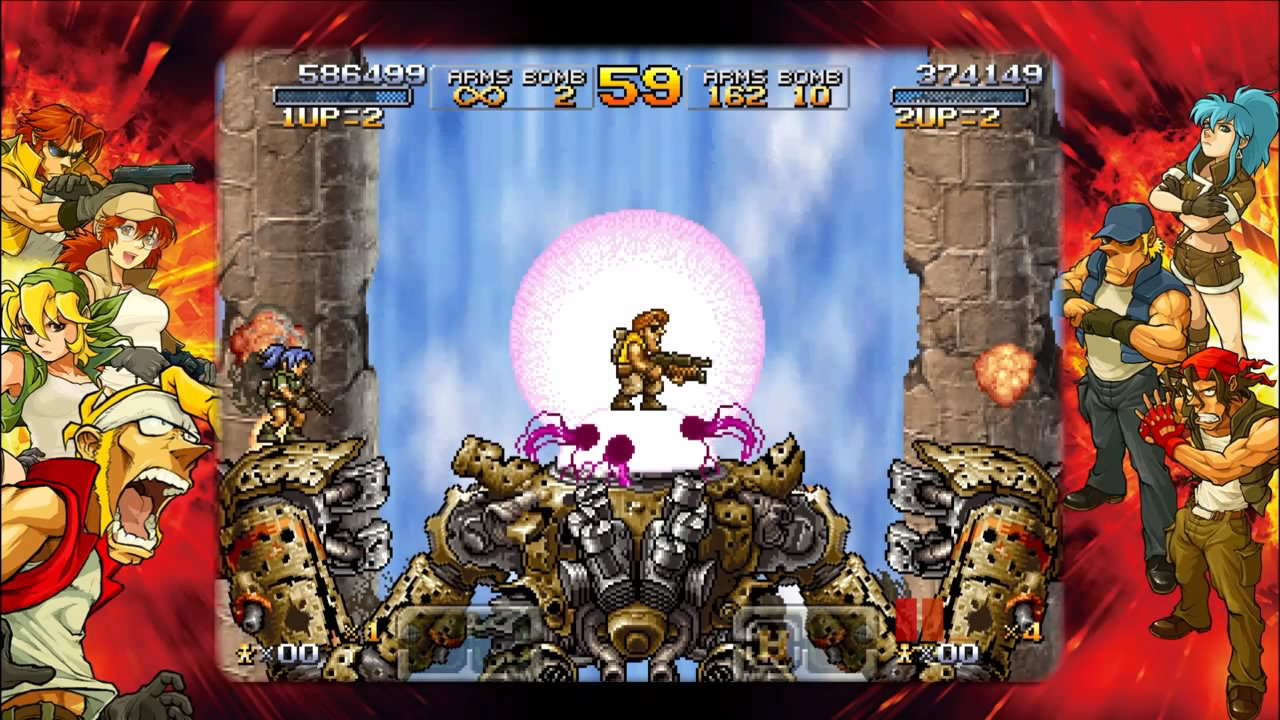Metal Slug Xx Game Ps4 Playstation