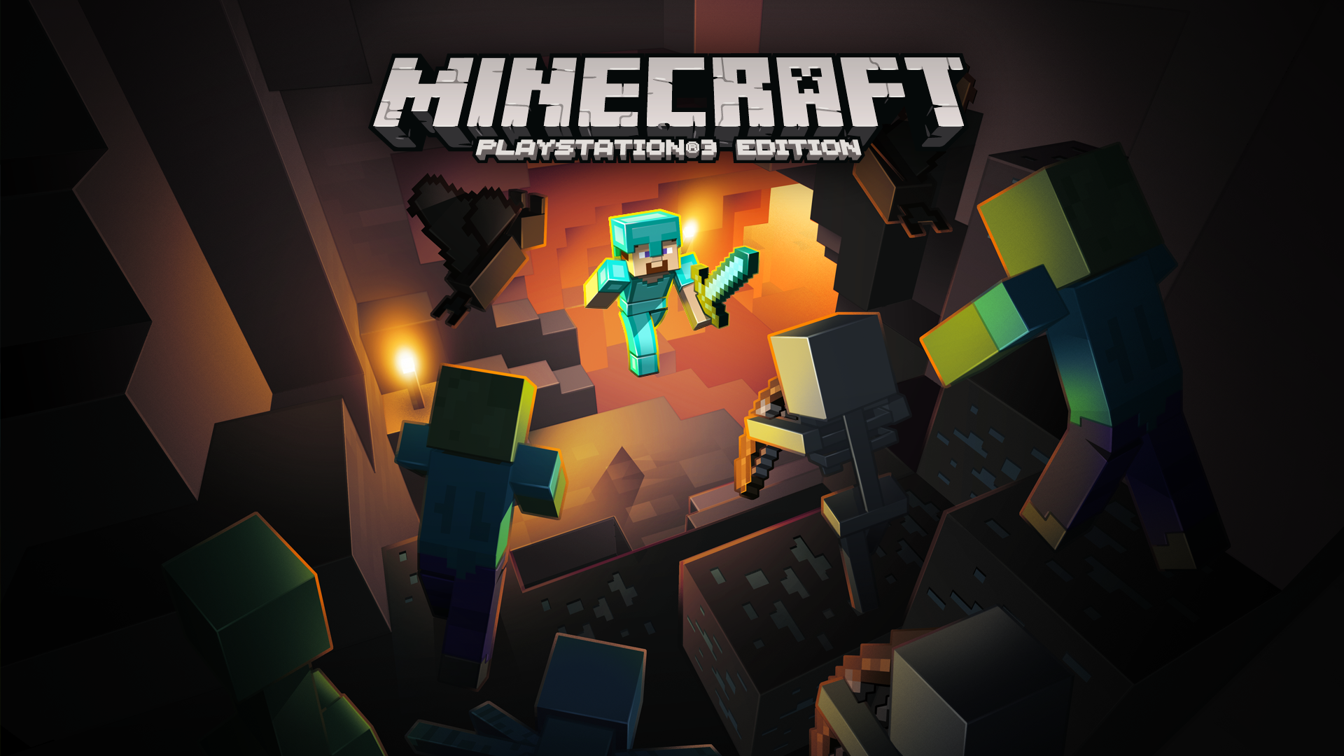 Minecraft Game PS PlayStation - Minecraft ps3 online spielen deutsch