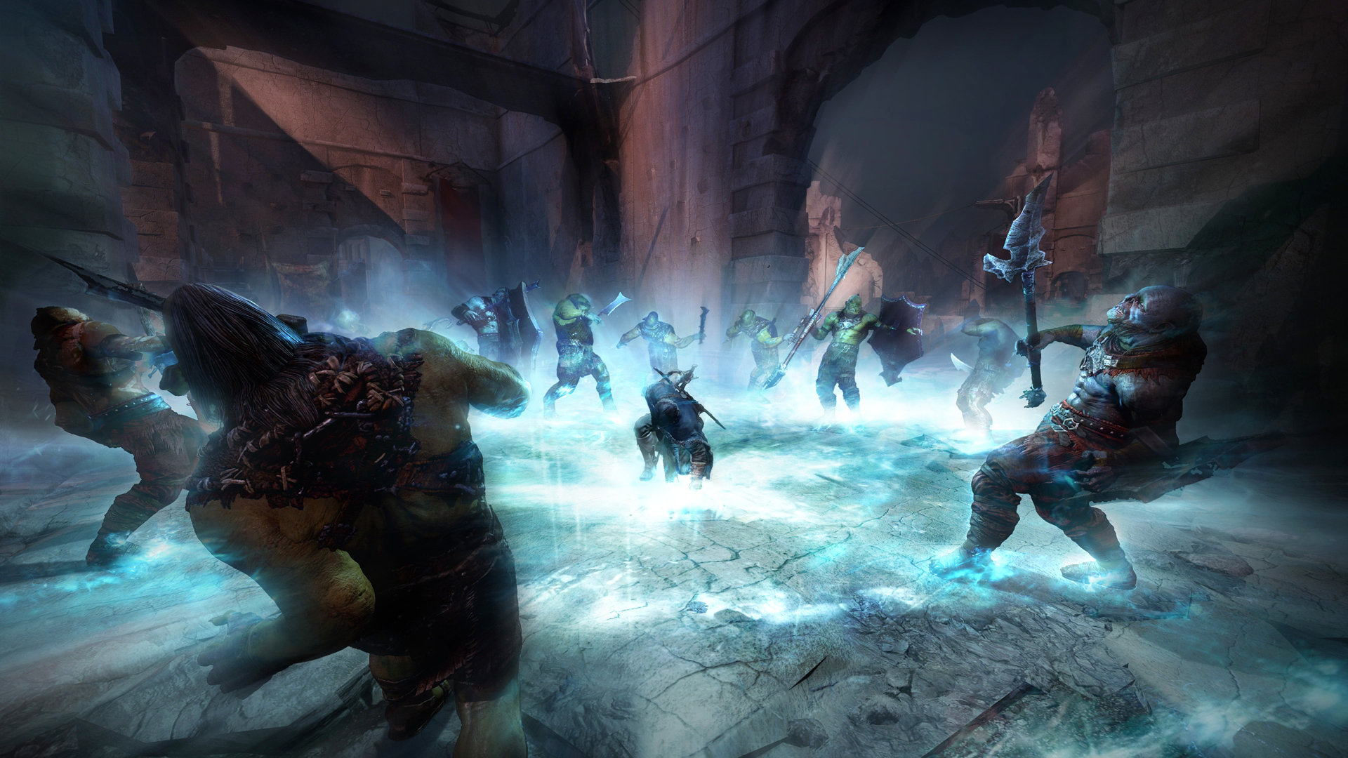 Middle Earth Shadow Of Mordor Game Ps4 Playstation