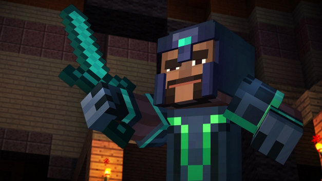 Minecraft: Story Mode - Episode 1: The Order of the Stone Screenshot 1