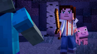 Minecraft: Story Mode - Episode 1: The Order of the Stone Screenshot 2