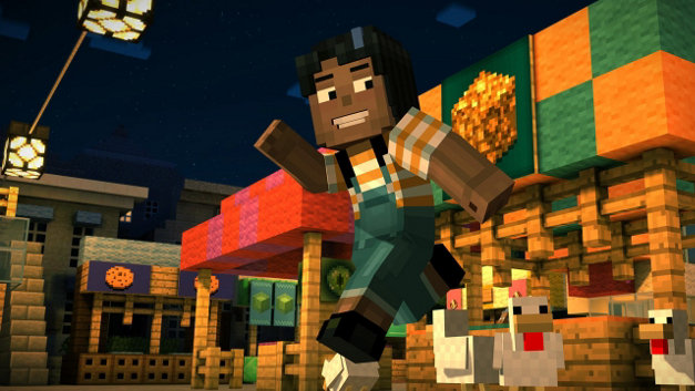 Minecraft: Story Mode - Episode 1: The Order of the Stone Screenshot 4