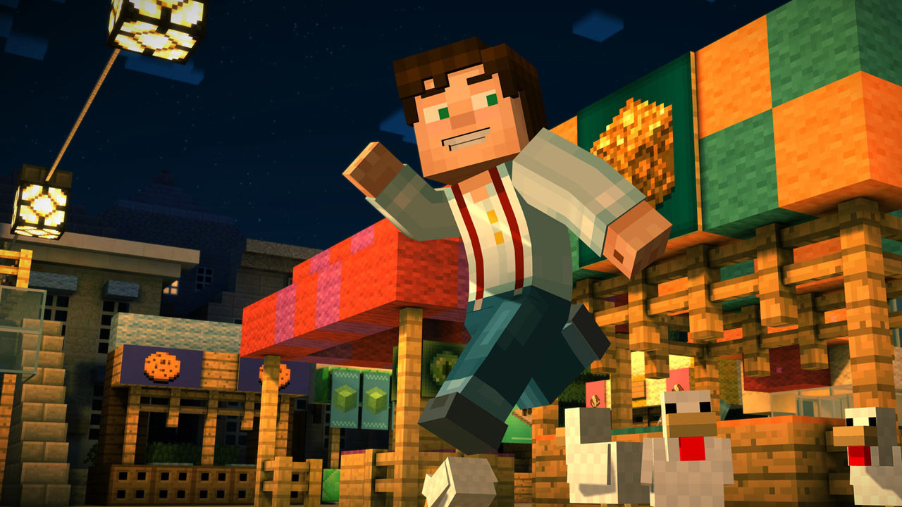Minecraft: Story Mode - Episode 1: The Order of the Stone Game | PS3