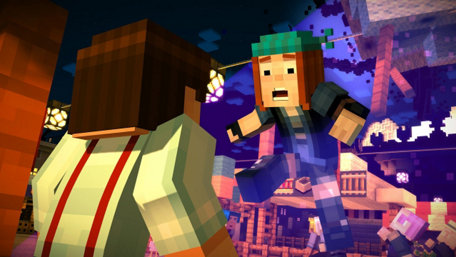 Minecraft: Story Mode - Episode 1: The Order of the Stone Trailer Screenshot