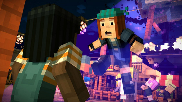 Minecraft: Story Mode - Episode 1: The Order of the Stone Screenshot 7