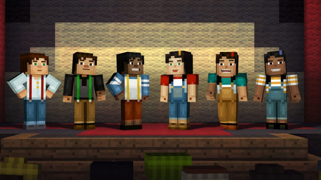 Minecraft: Story Mode - Episode 1: The Order of the Stone Screenshot 10