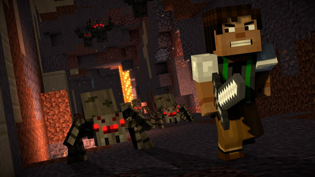 Minecraft: Story Mode - Saison 2 Screenshot 1