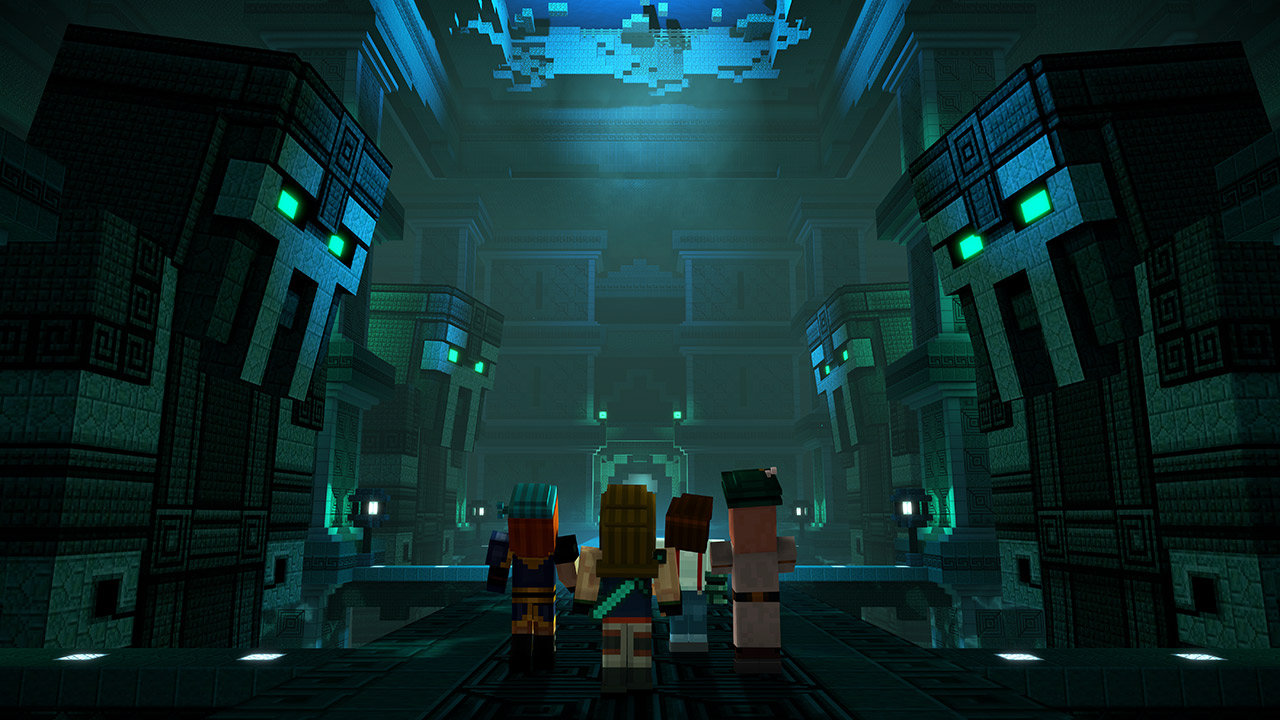 minecraft story mode season 1 episode 2 trailer