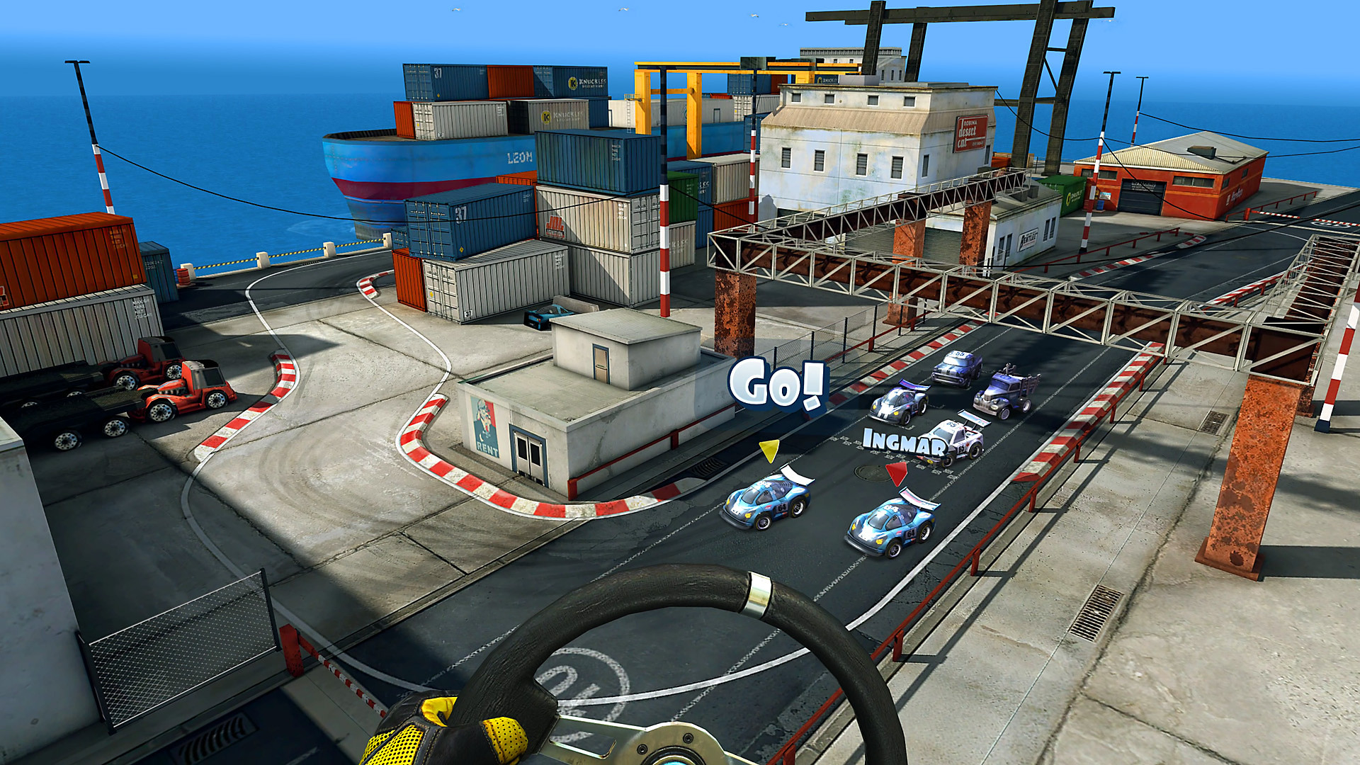 Mini Motor Racing X - Gameplay