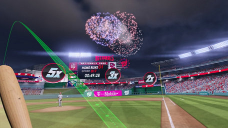 MLB Home Run Derby VR Trailer Screenshot