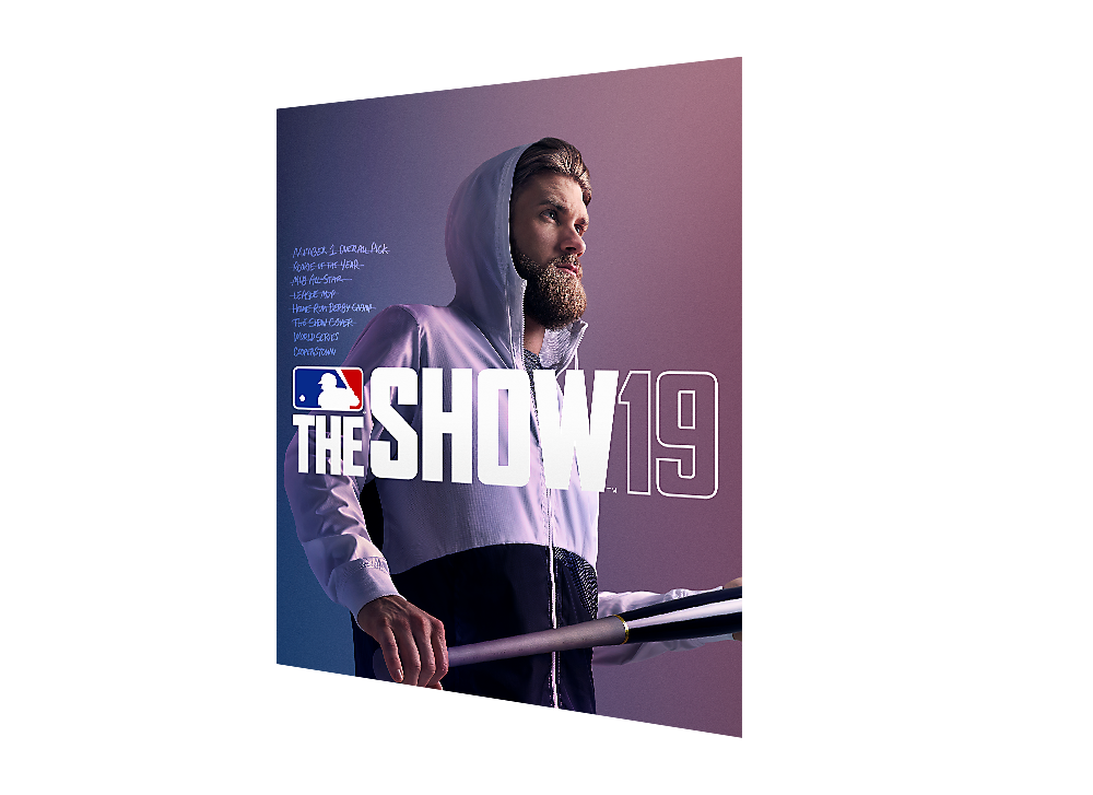 Diseño de la Digital Deluxe Edition de MLB The Show 19