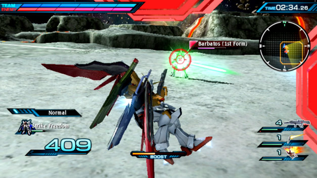 Mobile Suit Gundam: Extreme VS Force Screenshot 1
