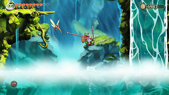 Monster Boy y el Reino Maldito - Screenshot INDEX
