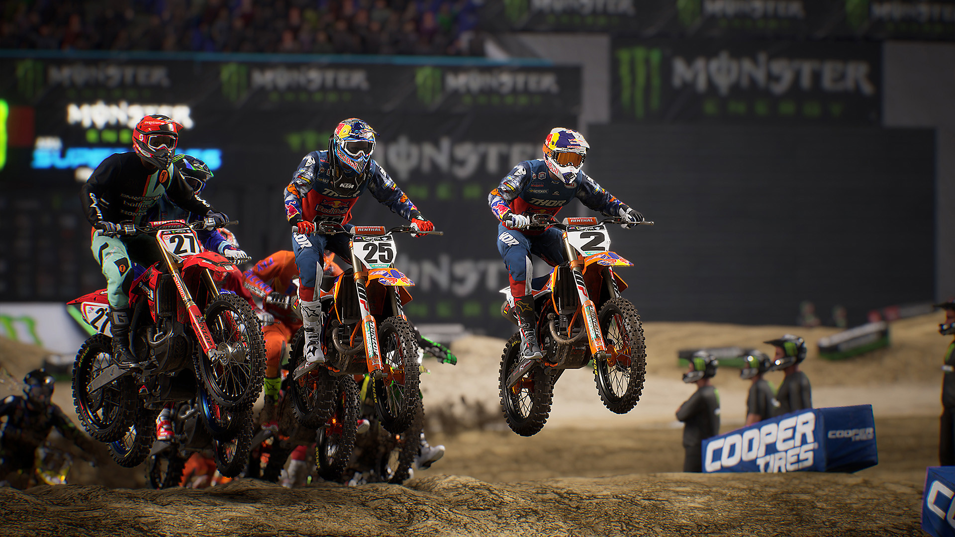Monster Energy Supercross – The Official Videogame 3 – Función multijugador